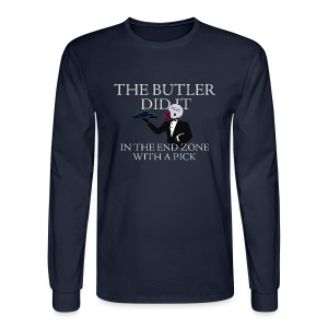 The Butler Did It - Men's Long Sleeve T-Shirt