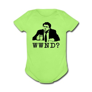 WWND? - Short Sleeve Baby Bodysuit