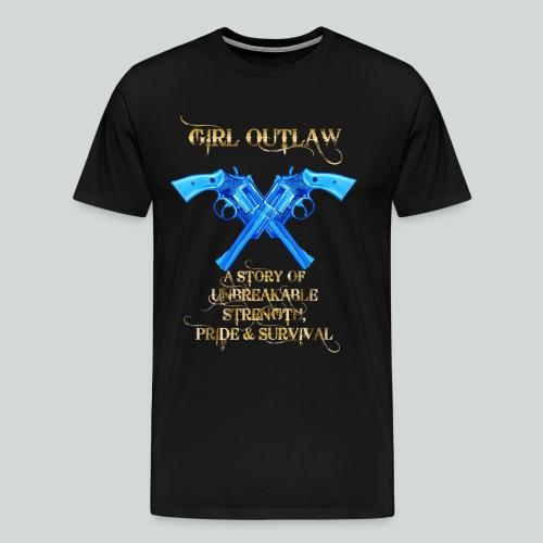 Girl Outlaw Promo Men's Tee - Men's Premium T-Shirt