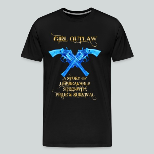 Girl Outlaw Promo Men's Tee - Men's Premium T-Shirt