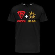 T-Shirts ~ Men's Premium T-Shirt ~ Pizza + Slap