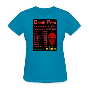 Death Print f - Women's T-Shirt