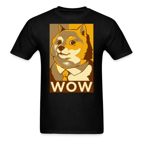 DOGE WOW - Men's T-Shirt