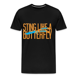 Sting Like A Butterfly - Men's Premium T-Shirt