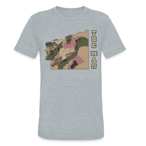 Old Man Mountain - Unisex Tri-Blend T-Shirt by American Apparel