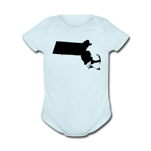 Just Mass - Short Sleeve Baby Bodysuit