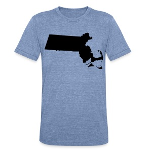 Just Mass - Unisex Tri-Blend T-Shirt by American Apparel