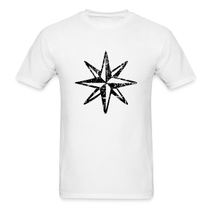 Wind Rose Vintage T-Shirt (Men) - Men's T-Shirt