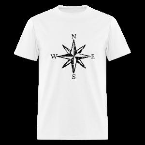 Wind Rose Vintage with Cardinal Points T-Shirt (Men) - Men's T-Shirt