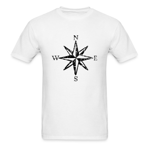 Wind Rose Vintage with Cardinal Points T-Shirt (Men) - Men's T-Shirt