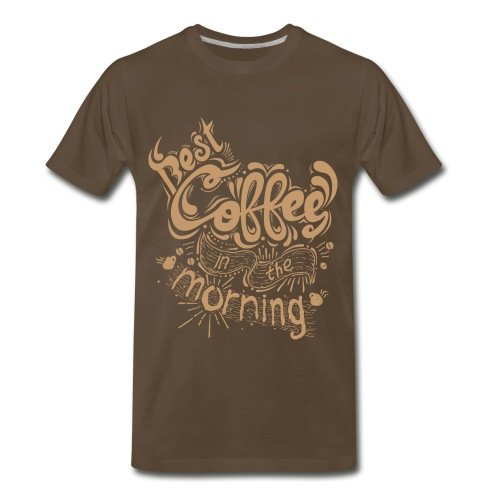 Best Coffe - Men's Premium T-Shirt