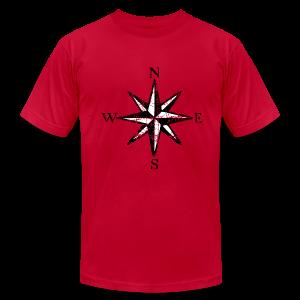 Compass Rose T-Shirt Vintage (Men) bicolor - Men's Fine Jersey T-Shirt