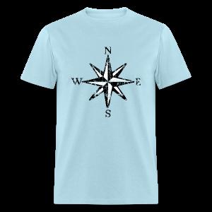 Compass Rose T-Shirt Vintage (Men) bicolor - Men's T-Shirt