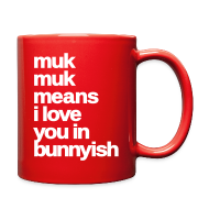 Mugs & Drinkware ~ Full Color Mug ~ muk muk means