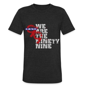 We are the 99% - Unisex Tri-Blend T-Shirt by American Apparel