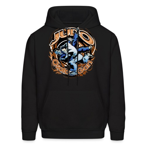 Black Judo Osoto Gari Mens T-shirt - Men's Hoodie