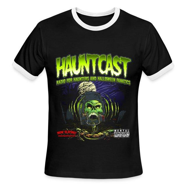 Hauntcast Men's Ringer T
