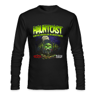 Long Sleeve Shirts ~ Men's Long Sleeve T-Shirt by Next Level ~ Hauntcast Men's Form Fitting T