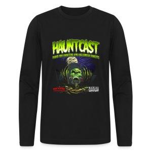 Hauntcast Men's Form Fitting T - Men's Long Sleeve T-Shirt by Next Level