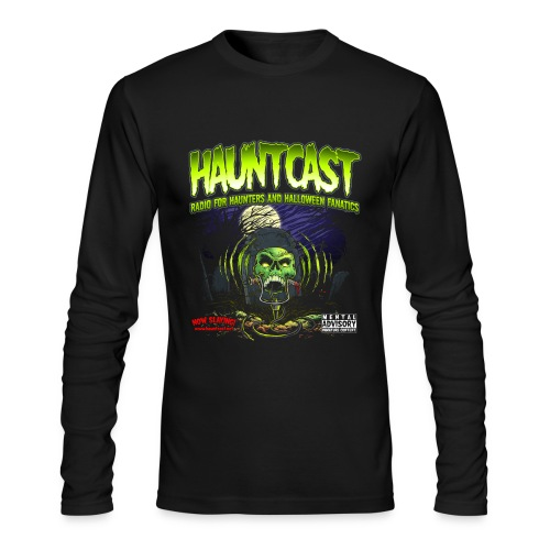 Hauntcast Men's Form Fitting T - Men's Long Sleeve T-Shirt by Next Level