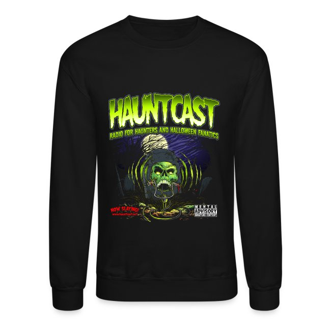 Hauntcast Men's Crew Neck Sweat shirt