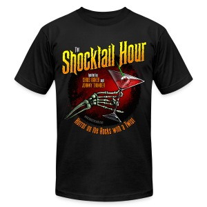 Shocktail Hour Men's T-Shirt - Men's T-Shirt by American Apparel