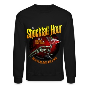 Shocktail Hour Mens' Sweatshirt - Crewneck Sweatshirt