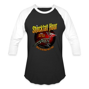 Shocktail Hour Men's Baseball Shirt - Baseball T-Shirt