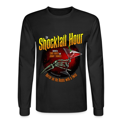 Shocktail Hour Long Sleeve T-Shirt - Men's Long Sleeve T-Shirt