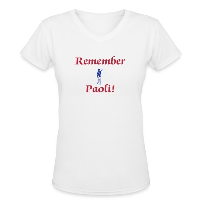 Remember Paoli! - Women's V-Neck T-Shirt
