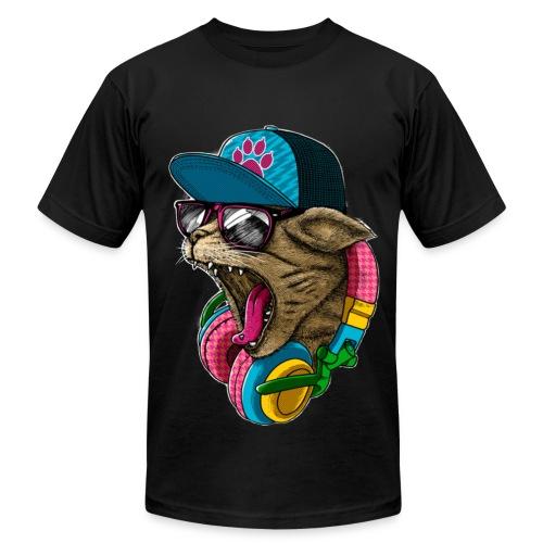 Dance Cat - Men's Fine Jersey T-Shirt