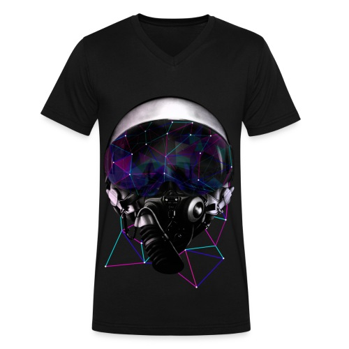Odyssey - Men's V-Neck T-Shirt by Canvas