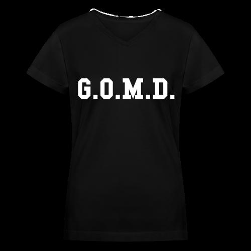 G.O.M.D. Women's V-Neck T-Shirt - Women's V-Neck T-Shirt