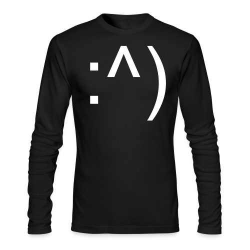 :^) - Men's Long Sleeve T-Shirt by Next Level