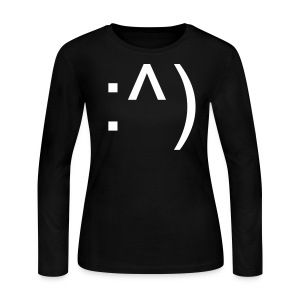 :^) - Women's Long Sleeve Jersey T-Shirt