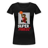 Women's T-Shirts ~ Women's Premium T-Shirt ~ Super Mario - Ladies