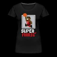 Women's T-Shirts ~ Women's Premium T-Shirt ~ Super Mario - Ladies