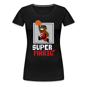 Super Mario - Ladies - Women's Premium T-Shirt