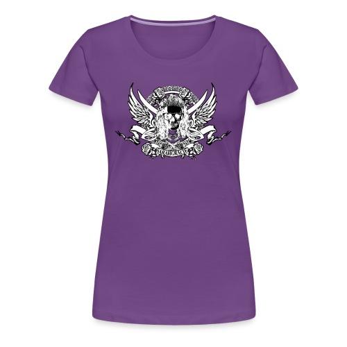 Lady SarahGracie Pirate Crew Crest - Women's Premium T-Shirt