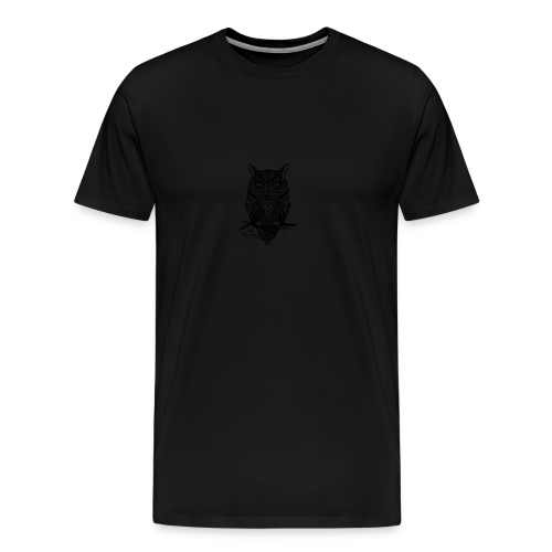 White Owl - Men's Premium T-Shirt