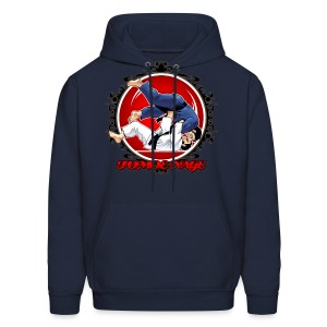 Judo Throw Tomoe Nage - Men's Hoodie