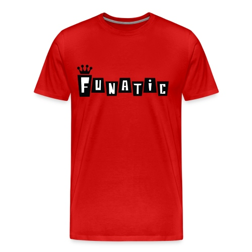 Funko FUNATIC Mens T-Shirt - Red - Men's Premium T-Shirt