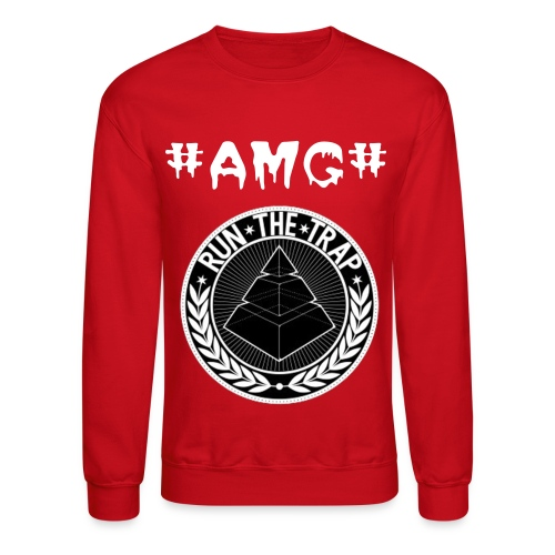 AMG Run The Trap Crew Neck - Crewneck Sweatshirt