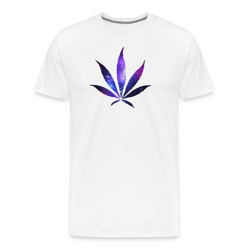 Space Leaf - tee - Men's Premium T-Shirt