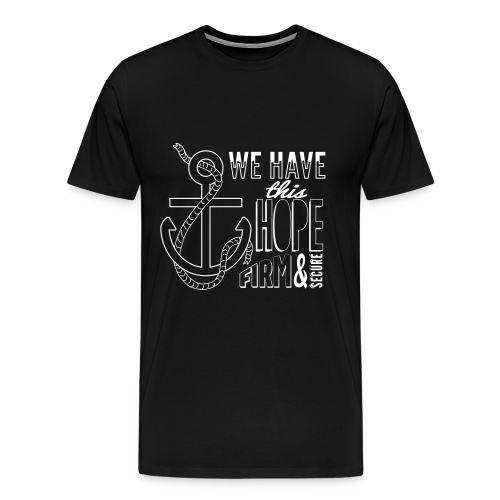 White font, 2015 t-shirt - Men's Premium T-Shirt