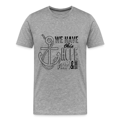 DEFAULT OPTION, Black font, 2015 t-shirt - Men's Premium T-Shirt