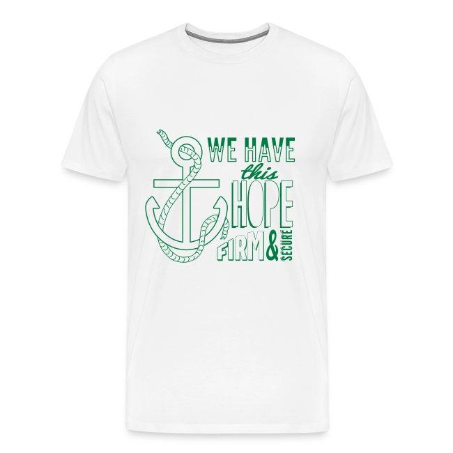 Green (forest) font, 2015 t-shirt
