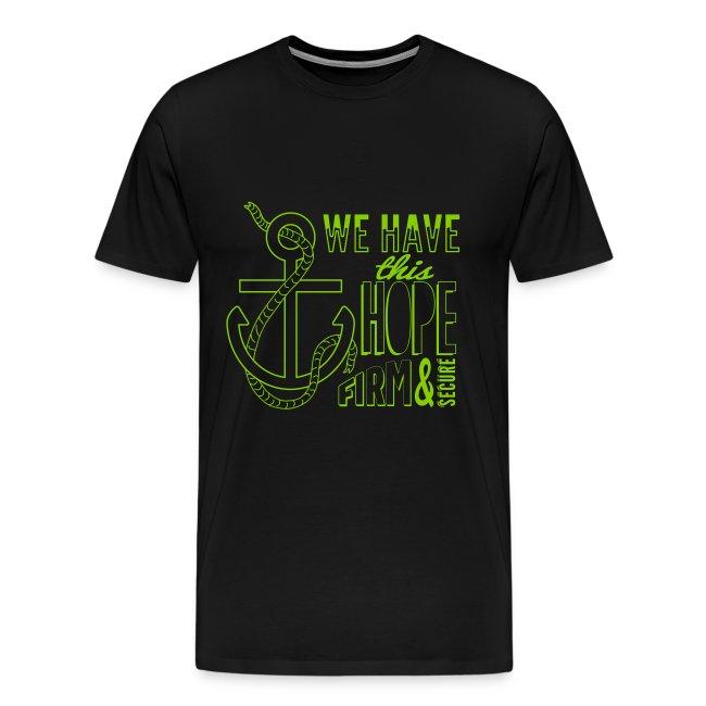 Green (apple) font, 2015 t-shirt