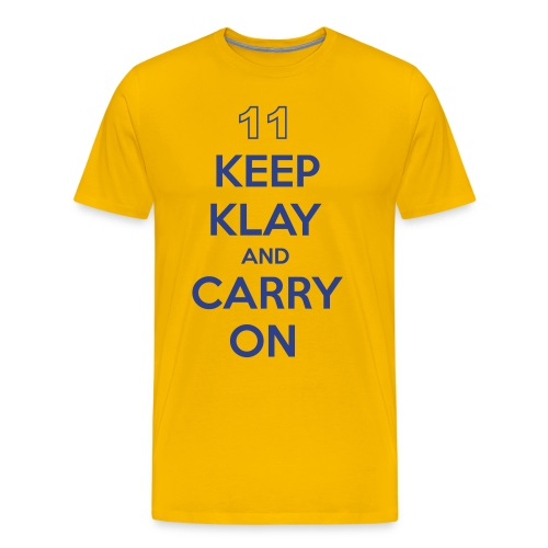 Keep Klay and Carry On - Men's Premium T-Shirt