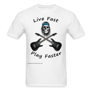 Live Fast Play Faster - Men's T-Shirt
